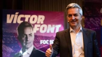 Víctor Font, candidat a la presidència del FC Barcelona