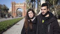 Tamara Carrasco i Adrià Carrasco a Barcelona