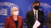 Ponsatí i Puigdemont, al Parlament Europeu
