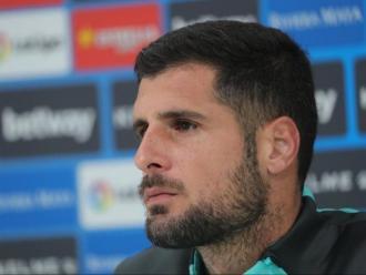 """Fran Mérida ha qualificat de """"perillós"""" a l'Osasuna, un equip on ha jugat quatre temporades."""