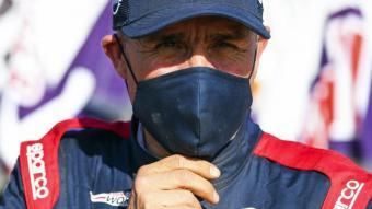 Stéphane Peterhansel a l'arribada