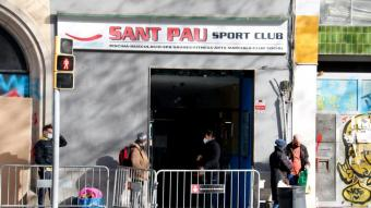 L'exterior del Gimnàs Social Sant Pau