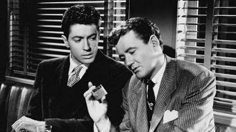 """Alfred Hitchcock va adaptar """"Estranys en un tren"""" el 1951."""