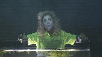 L'actriu Antònia Jaume comparteix escena amb Màrcia Cisteró a 'El jardí', el primer muntatge del cicle