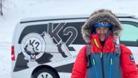 Sergi Mingote, en la fase de preparació per escalar el K2 i en un dels vuitmils que va escalar en el projecte 14x1000