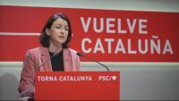 Eva Granados, viceprimera secretària del PSC