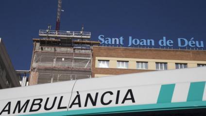 Exterior de l'hospital Sant Joan de Déu