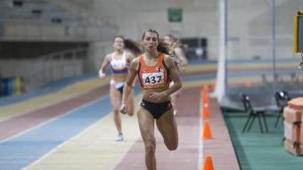 Sara Gallego es va imposar amb autoritat en els 400 m amb una marca de 55.04