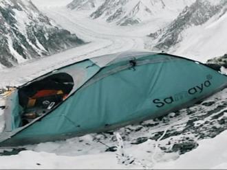 La tenda de Mingote i Mohr al camp 3 del K2.