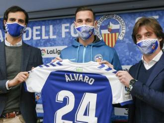 Álvaro Vázquez, nou davanter del Sabadell