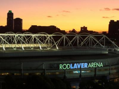 La pista on es disputa el Grand Slam australià