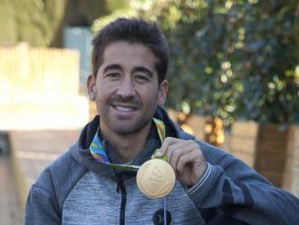 M arc López, amb l'or de Rio 2016