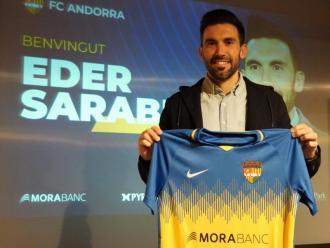 Eder Sarabia, presentat com a nou tècnic