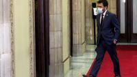Pere Aragonès, vicepresident del Govern amb funcions de president, al Parlament