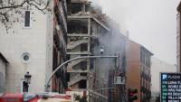 L'explosió ha malmès les plantes superiors de l'edifici, al carrer Toledo de Madrid