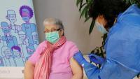 La residència Natzaret de Móra d'Ebre va rebre ahir la segona dosi de la vacuna, els primers de la regió