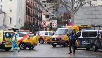 S'eleven a quatre les víctimes mortals de l'explosió de gas al centre de Madrid