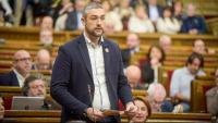 Bernat Solé, conseller d'Exteriors, Transparència i Relacions institucionals al Parlament de Catalunya
