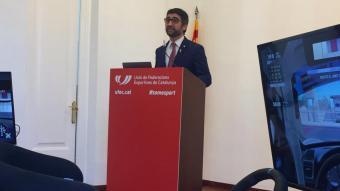 Puigneró, en la presentació de la primera lliga catalana d'eSports.