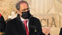 Quim Torra, president de la Generalitat inhabilitat