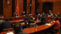 La taula de partits , reunida divendres passat al Parlament
