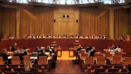 Vista al TJUE el 2019 sobre l'entrega de Valtònyc a l'Estat espanyol