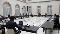 Reunió de la mesa de grups sobre les eleccions
