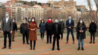 Presentació de la candidatura d'ERC a Lleida