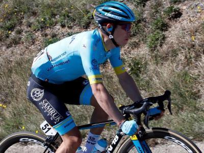 Miguel Ángel López a Sant Feliu de Guíxols en la Volta a Catalunya 2019