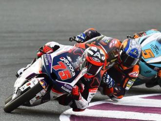 Albert Arenas (75) en el GP de Qatar 2020