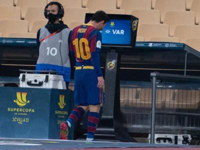 Messi, expulsat
