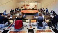 Reunió setmanal del govern de la Generalitat de Catalunya en funcions