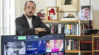 El cofundador de Filmin i director editorial de la plataforma, Jaume Ripoll