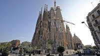La Sagrada Família ha aturat les obres durant la pandèmia