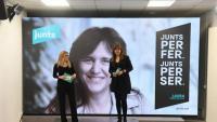 Elsa Artadi i Laura Borràs presenten el lema de campanya