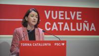La viceprimera secretària del PSC, Eva Granados