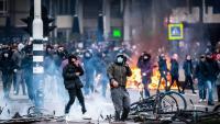 Protestes a Amsterdam contra les restriccions pel coronavirus