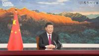 Xi, durant el seu discurs en el Fòrum Econòmic Mundial, inaugurat ahir en format virtual