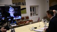 John Kerry, l'enviat especial de Joe Biden a la conferència del clima, parla per videoconferència