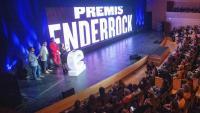 La cerimònia dels Enderrock celebrada el març passat a l'Auditori de Girona