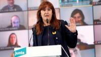 La candidata de JxCat a la presidència de la Generalitat, Laura Borràs