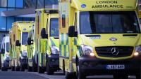 Diverses ambulàncies a Londres