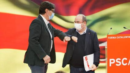 Finalment, s'ha executat l'intercanvi de papers entre Illa i Iceta com a candidat a la presidència de la Generalitat