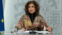 La titular del ministeri d'Hisenda, María Jesús Montero