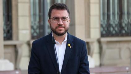 El vicepresident i candidat d'ERC, Pere Aragonès