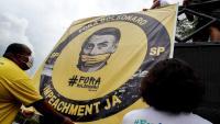 Acte a favor de la destitució de Jair Bolsonaro per la gestió de la pandèmia a São Paulo