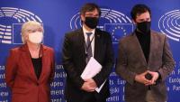 """Els diputats francesos defensen la """"protecció"""" de la immunitat parlamentària els eurodiputats de Junts"""