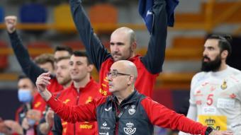 El sarrianenc Jordi Ribera , el seleccionador d'Espanya