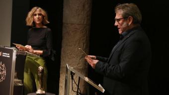 Aina Clotet i Sergi López han llegit els noms dels nominats en un acte celebrat a l'Auditori de La Pedrera