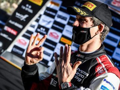 Sébastien Ogier mostra vuit dits per les seves vuit victòries en el ral·li de Montecarlo